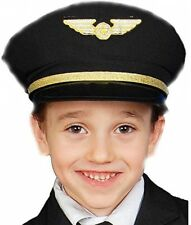 Dress Up America Airline Pilot Hat Kids Costume Accessory (One Size)