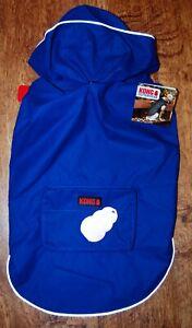 KONG blue reflective water resistant coat Size L (43-46 cm Back length)