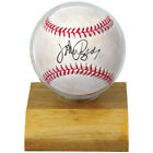 Ultra Pro Baseball Globe Display Case w/Wood Base Ball Holder w/Free Engraving