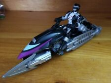 Power Rangers Operation Overdrive Black Hovertek Cycle & Action Figure (2007)