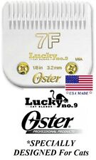 Oster Lucky No.9 Pro Cat 7F Blade*Fit Golden,Turbo,A6,3000i,Vol t,Agc,Km Clippers