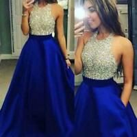 Elegant Women Formal Prom Cocktail Party Ball Gown Bridesmaid Long Dresses CA