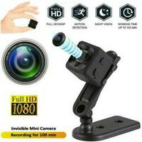 Mini IP Cam Wireless Wifi Home Security Camera HD 1080P DVR Night Hidden B8Q8