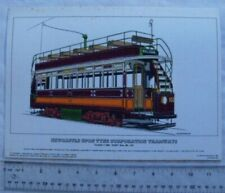 1965 limited edition print Newcastle-upon-Tyne Corporation Tramways