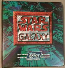 Star Wars Galaxy Series 1 and 2 Promos and Official Topps Binder