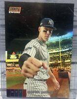 2020 Topps Stadium Club Chrome Aaron Judge Short Print SP 54/99 Rookie Card