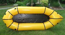 ALPACKA LLAMA Yellow Inflatable Kayak Raft Boat Lightweight 5 lb 7 oz