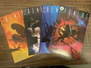 ALIENS #1-4, Dark Horse comics