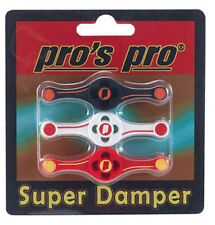 Pro's Pro Super Damper Tennis String Vibration Dampener 3 Pack