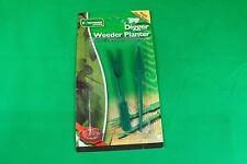Kingfisher Digger Weeder and Planter Set Plastic Garden Potting Tools