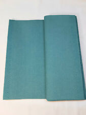 Genuine ULTRASUEDE SOFT Faux Suede Fabric - 1/4 yard piece - TURQUOISE