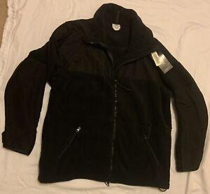 US. Military Polartec Black Fleece Classic 300 Jacket Size X-Large Brand New