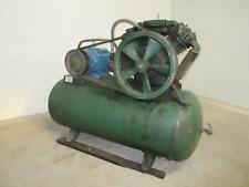 Horizontal Shop Air Compressor 100 Gallon 15 Hp