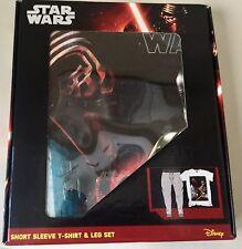 Disney's Star Wars Mens T-shirt(chest109-118cm) & Lounge pants(w102-107cm) XL