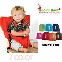 Baby Chair Portable High Chair Belt Seat Toddler Infant Sack Seat Sacking K Q6L9