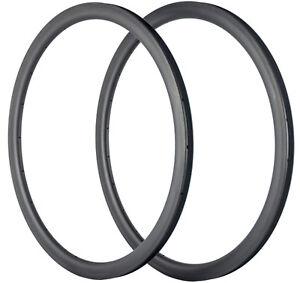 38mm Carbon Rims 23mm Tubular Carbon Bike Rim 700C Rims 16/18/20/21/24/28 Holes
