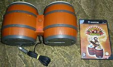 DONKEY KONGA BUNDLE for NINTENDO GAMECUBE Set of Bongo Drums Controller + Game