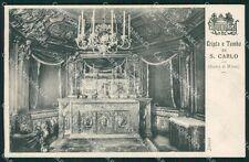 Milano Duomo Cripta San Carlo cartolina XB3042