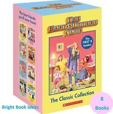 NEW The Baby-Sitters Club 8 Book Set - The Baby Sitters Collection Ann M. Martin