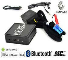 Interface Bluetooth MP3 AUX pour Renault Clio 2 Clio 3 Megane 2 Laguna 2 Scenic