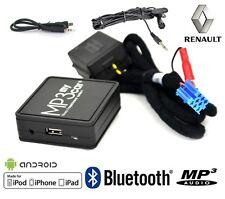 Interface Bluetooth MP3 AUX pour Renault Clio 2 Clio 3 Megane 2 Laguna 2 Scenic