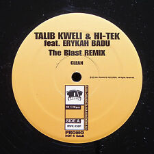 TALIB KWELI HI-TEK ERYKAH BADU The Blast Remix RAWKUS RWK-336P US 2001 PROMO