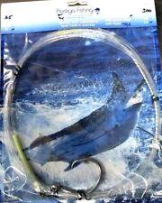 windon leader 3x 300lb w/ 16/0 circle hook & swivel wind on leader tuna marlin