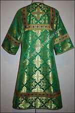 TO ORDER!! Readers Robe Orthodox Vestment Nonmetallic Brocade Green