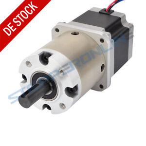 15:1 Planetengetriebe Nema 23 Stepper Motor 2.8A Getriebemotor CNC Lathe Router