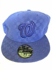 New Era Cap Washington Nationals size 7 5/8 - VINTAGE, VERY RARE & UNIQUE, NEW