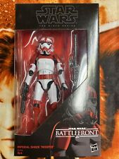 Star Wars Black Series Imperial Shock Trooper 6 In open box complete