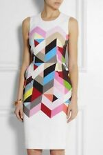 Wiggle/Pencil Knee-Length Geometric Dresses for Women