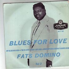 FATS DOMINO BLUES FOR LOVE NO 2 EP ON GOLD LONDON RECORDS VERY RARE