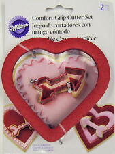 Heart Comfort Grip with Metal Arrow 2 pc Cookie Cutter Set from Wilton #7081