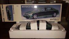 Autoart Auto Art Maybach 62 Green Diecast 1:18 NEW