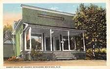 White Mts New Hampshire Summit House Mt Agassiz Antique Postcard K18132