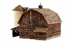 Ready to Go/Pre-built HO Scale Model Railroad Barns for sale