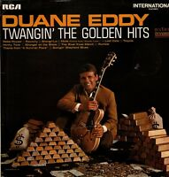 "DUANE EDDY Twangin' The Golden Hits 12"" Vinyl LP Album RCA INTS1057 DA"