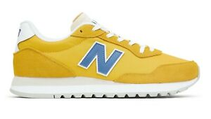 NEW BALANCE 527 v1 Scarpe Uomo Sneakers Suede Textile YELLOW BLUE ML527CCD