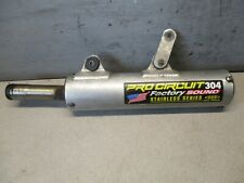 KAWASAKI KX 250 1989 PRO CIRCUIT 304 PERFORMANCE SILENCER STAINLESS SERIES