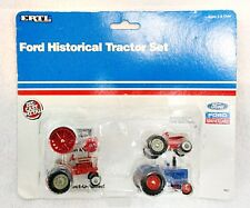 ERTL 1/64 SCALE FORD HISTORICAL TRACTOR SET MINT ON CARD