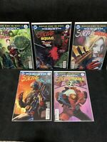SUICIDE SQUAD REBIRTH LOT/ DC Comic/ 11 12 13 14 15/ Harley Quinn/ Batman/ Joker