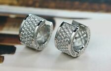 925 Sterling Silver Elagant Huggie Hoop Earring For Ladies/Women - Great as Gift