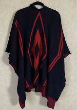 Do Everything In Love Poncho Wrap Duster Aztec  Anthropolgie Womens OS