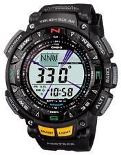 Casio Watch Protrek Triple Sensor Tough Solar Lcd PRG-240-1 Mens Watch