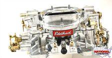 "Remanufactured Edelbrock Carburetor 750 CFM Manual Choke #1407  ""Shiny Finish"""