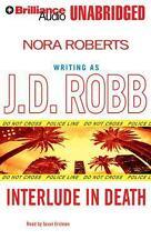 Interlude in Death by J. D. Robb (2014, CD, Unabridged)