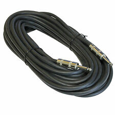 NEW 50 ft foot feet 14GA gauge 1/4 amp to SPEAKER CABLE cord PRO AUDIO DJ PA 15m