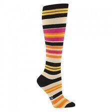 Sock It To Me Women's Knee High Socks - Sunset Striped