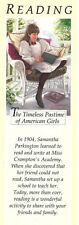 Retired American Girl Samantha Bookmark! Early Pleasant Company Reading Bookmark